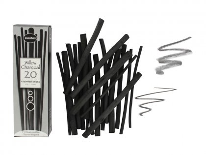 Artists Willow Charcoal - 20 Assorted