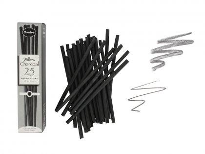 Artists Willow Charcoal - 25 Medium