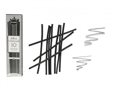 Artists Willow Charcoal - 10 Thin